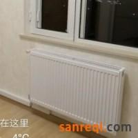 无锡明装暖气片和博世锅炉组装暖气片
