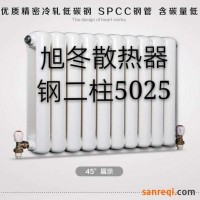 XDGZT2-5025钢二柱散热器 旭冬暖气片 长春旭东暖气片厂