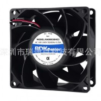 EC8038增压散热风扇 打印机风扇 服务器风机
